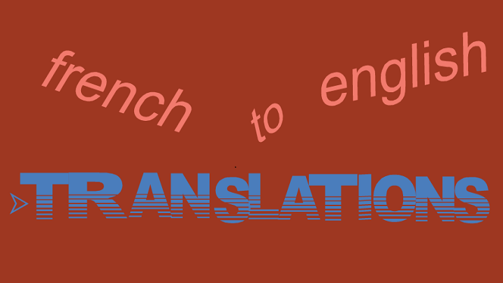 Translate french to english, FiverrBox
