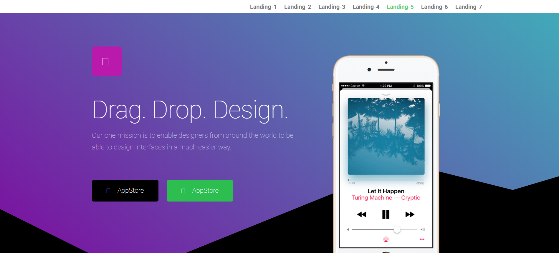 Install a similar wordpress theme landing page on your website, FiverrBox