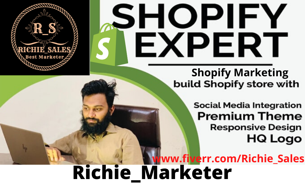 I will do shopify marketing, shopify promotion,shopify sales for shopify store, FiverrBox