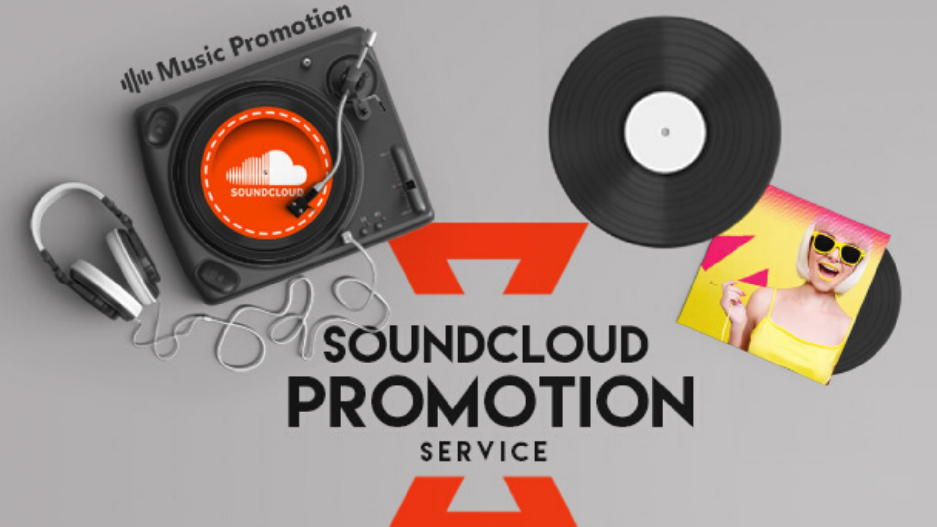 Do viral soundcloud promotion for your soundcloud music and tracks, FiverrBox