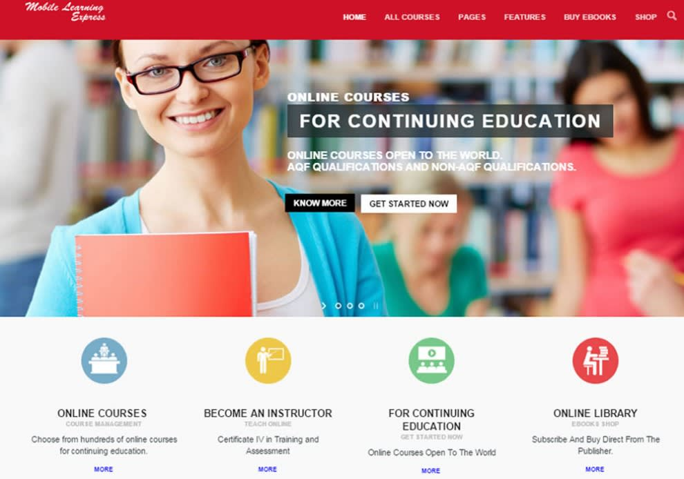 I will Create e-learning website for you, FiverrBox