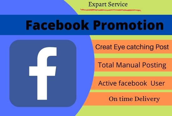 I will do organic promotion of your facebook page, FiverrBox