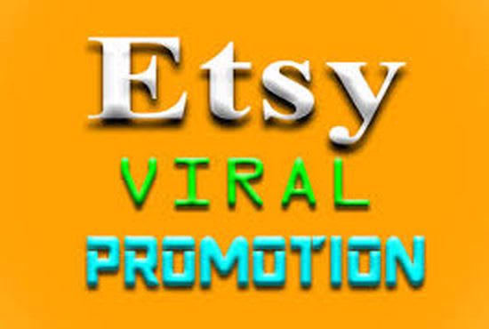 Promote your etsy, ebay, amazon, and shopify store, FiverrBox