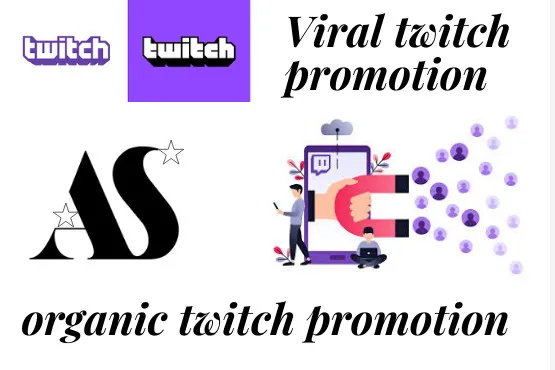 I will promote your twitch channel to get affiliate and partner, FiverrBox