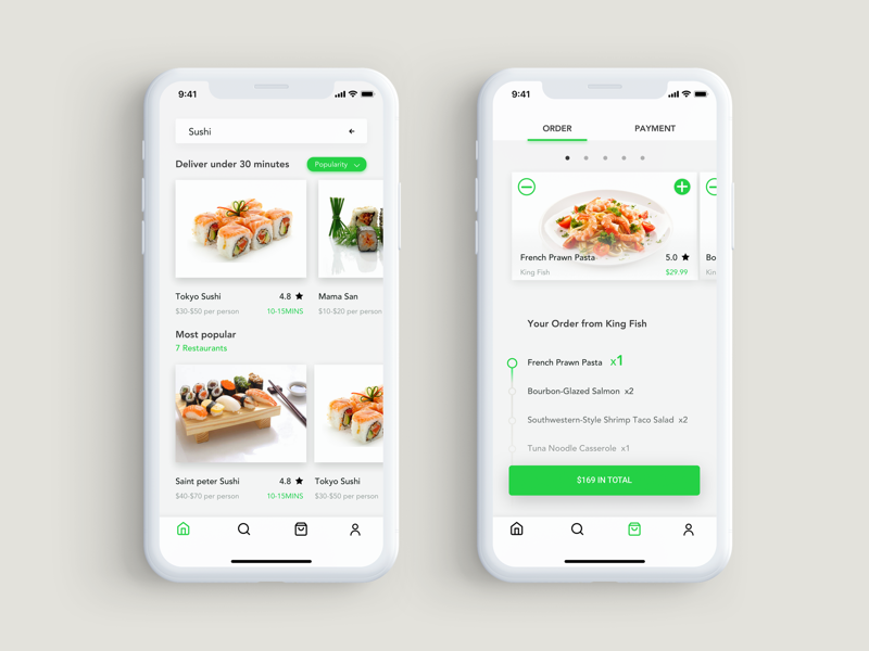 I will develop multi restaurant food delivery app like uber eat with website, FiverrBox