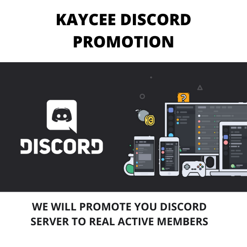 I will promote and advertise on my real 20k active discord server, FiverrBox
