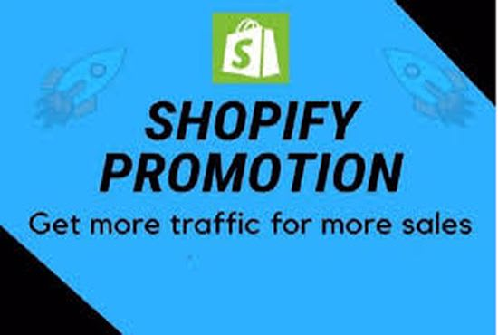 I will promote sales and drive USA marketing traffic to your shopify store, FiverrBox