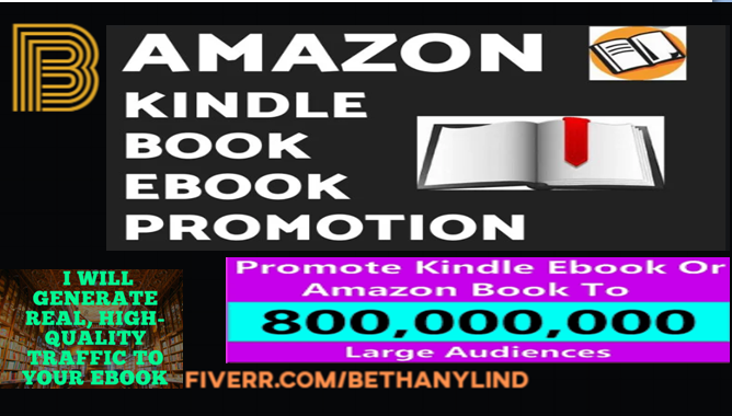 I will do effective ebook promotion, book marketing, FiverrBox