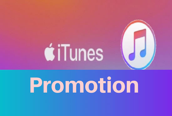 I will do viral organic itunes, apple music promotion in 24 hours, FiverrBox