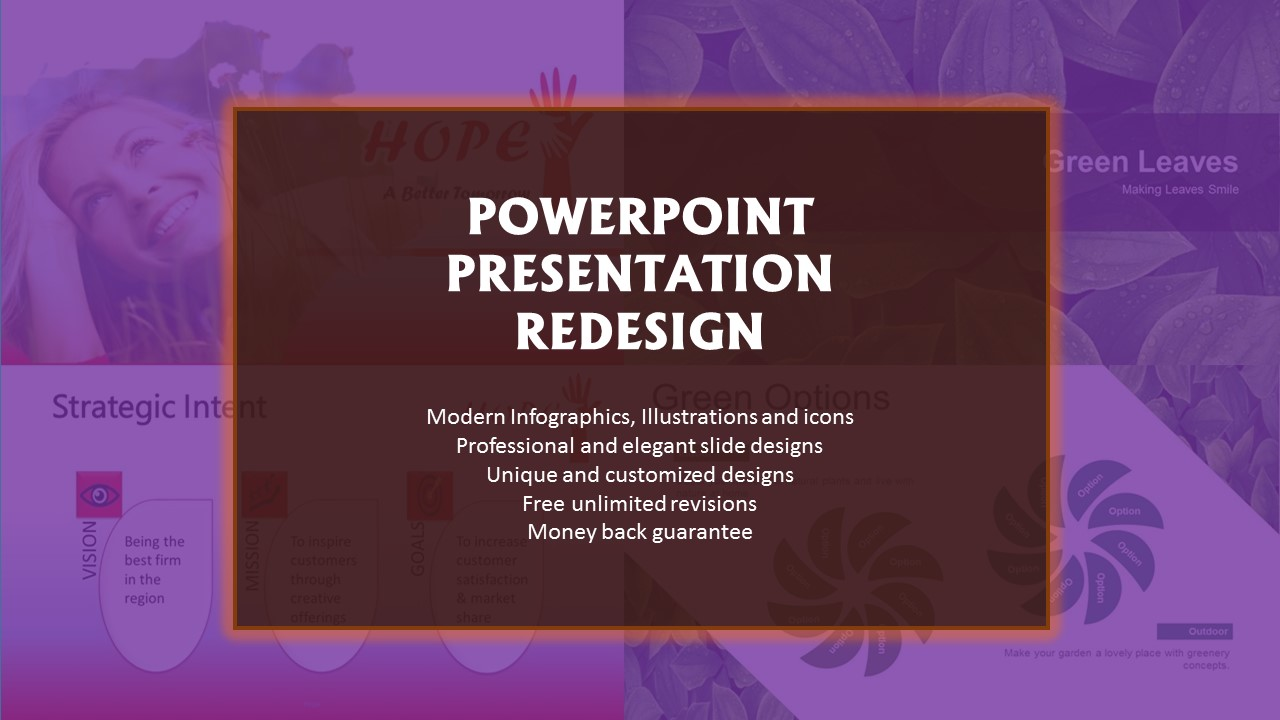 I will redesign powerpoint presentations professionally, FiverrBox