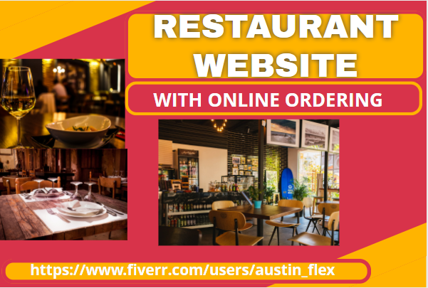 I Will Build A Restaurant Website With Online Ordering, FiverrBox