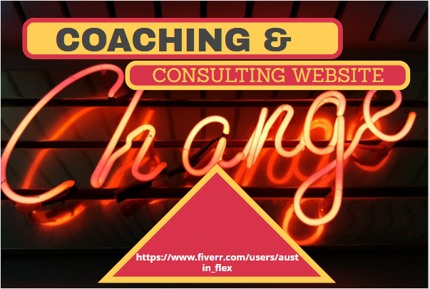 I Will Design A Coaching Website For The Trainer, Speaker Or Consultant, FiverrBox
