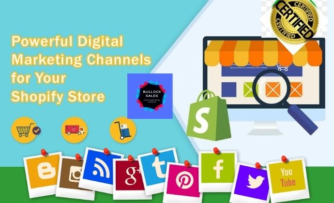 I will do guarantee shopify sales marketing shopify sales promotion web traffic, FiverrBox