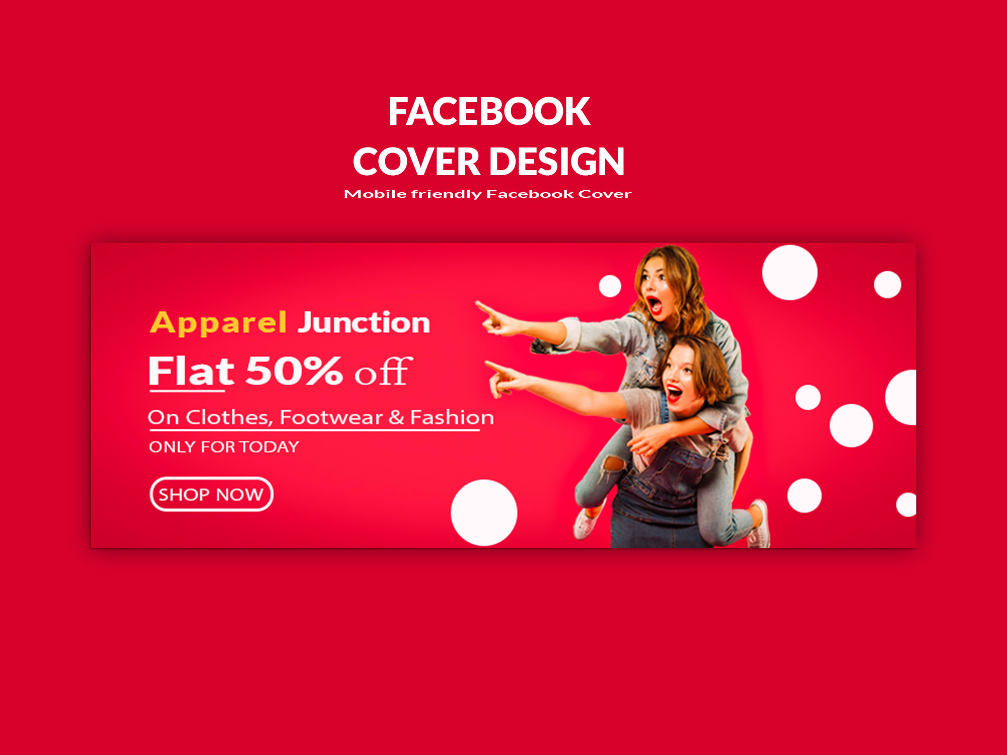 I will design your facebook cover or any social media banner, FiverrBox