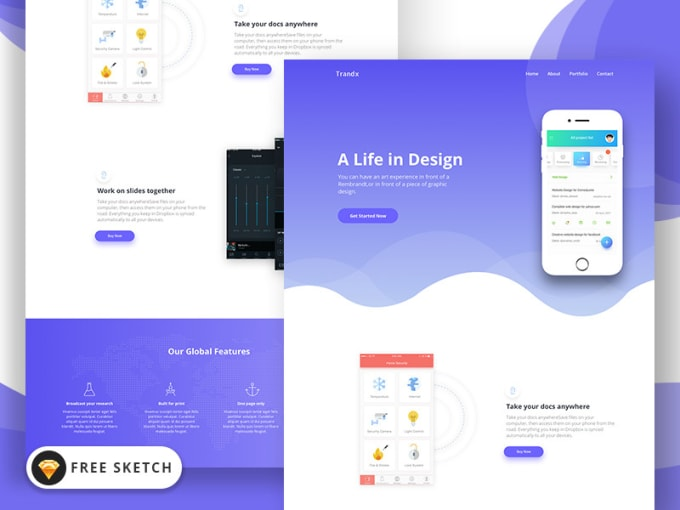 I will do irresistible sales page, landing page design, modern landing page, FiverrBox