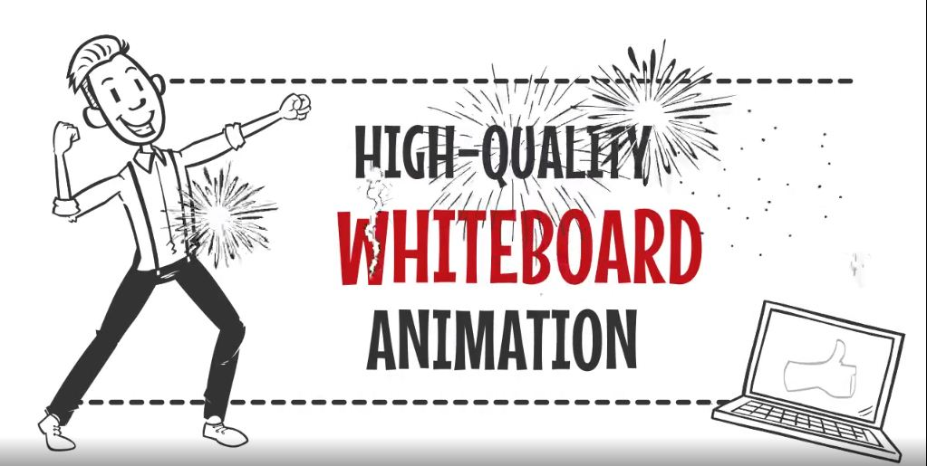 I will design a whiteboard animation video ads or video explainer, FiverrBox