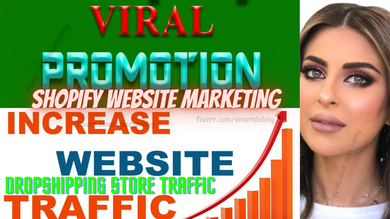 I will do viral shopify marketing, shopify promotion to boost sales conversion, FiverrBox