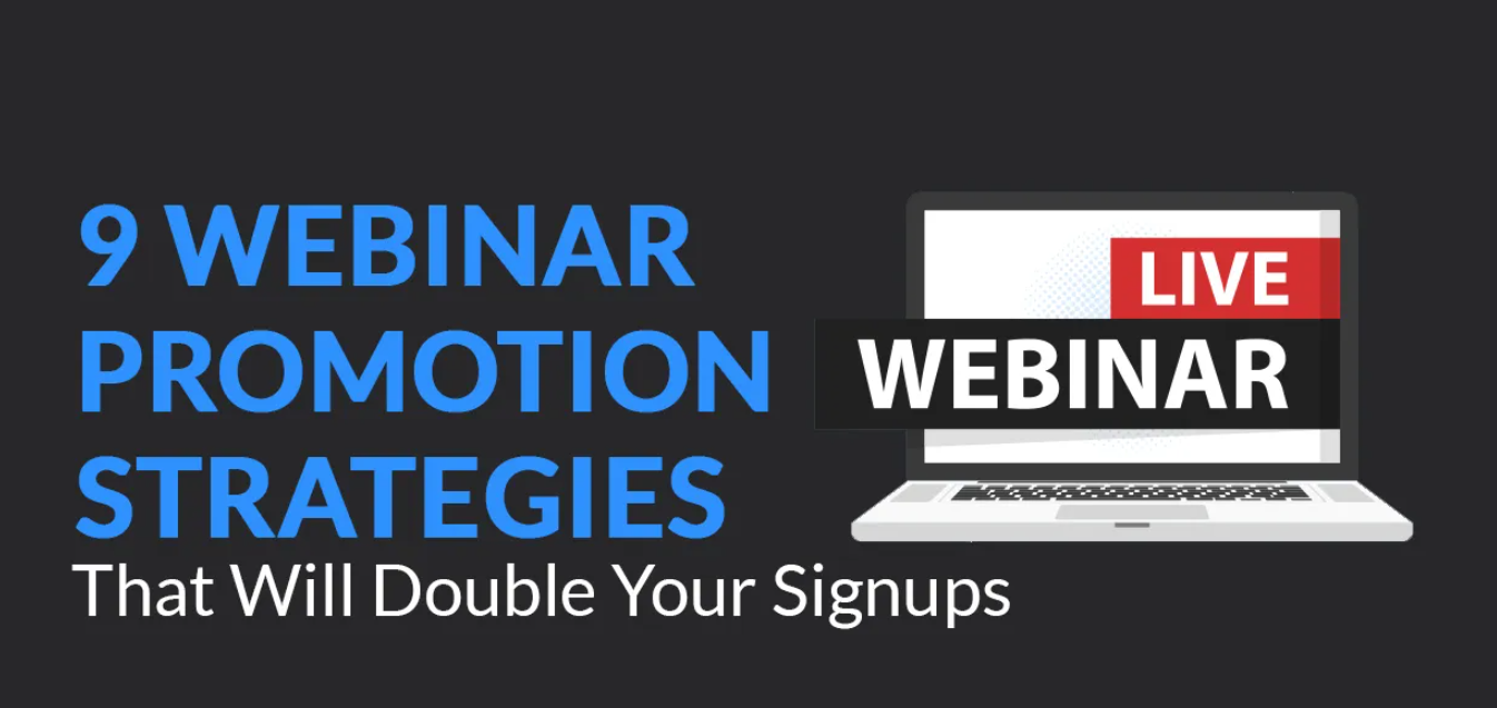 I will do unique promotion for your webinar, event marketing, FiverrBox