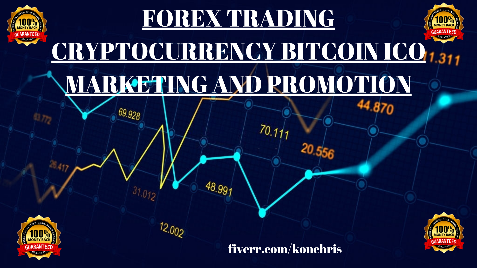 I will do forex trading blockchain cryptocurrency bitcoin promotion to get traffic, FiverrBox