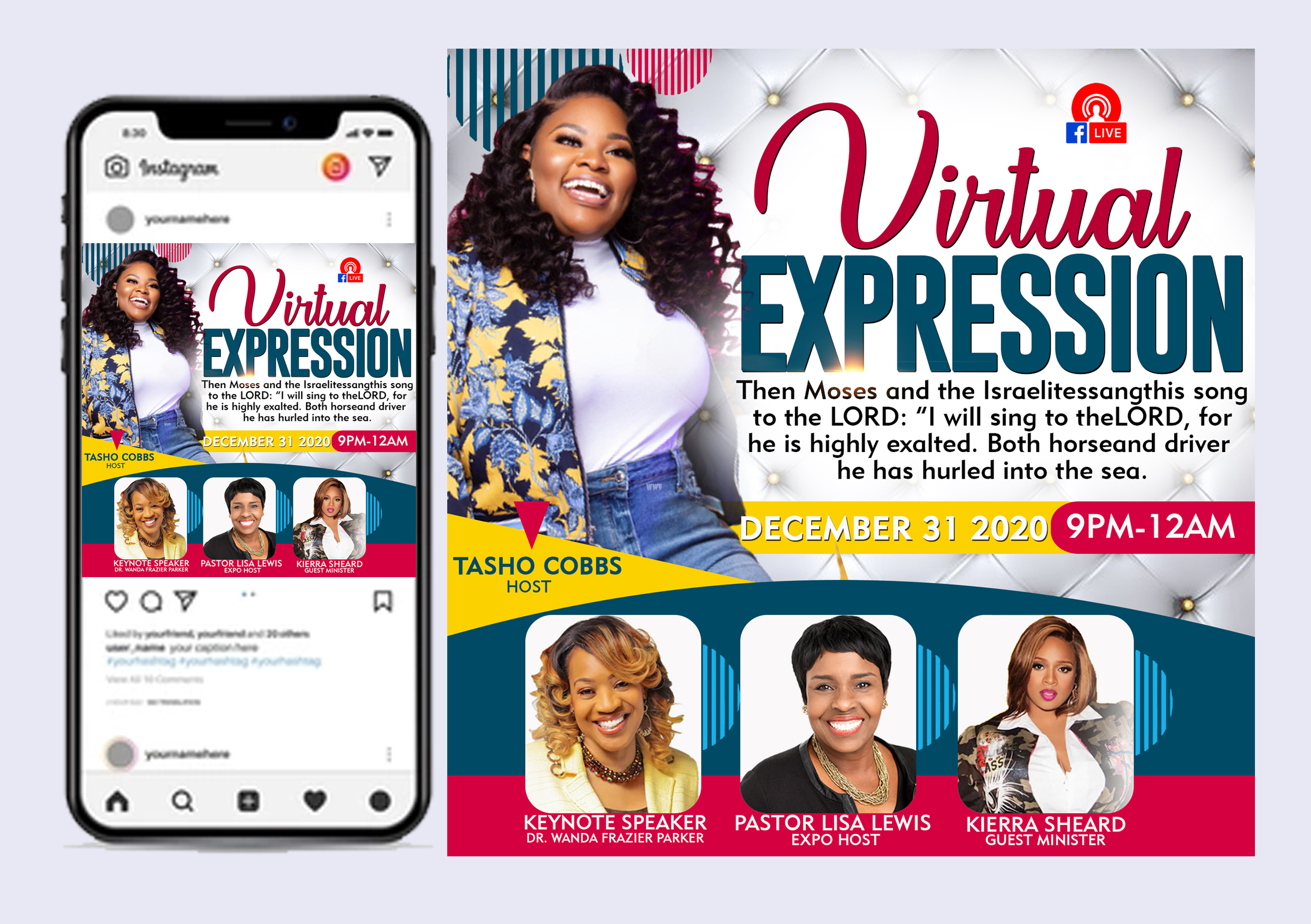 I will design exceptional church flyer or posters in just 3 hours, FiverrBox