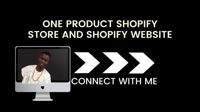 I will build one product shopify store dropshipping shopify store print on demand, FiverrBox