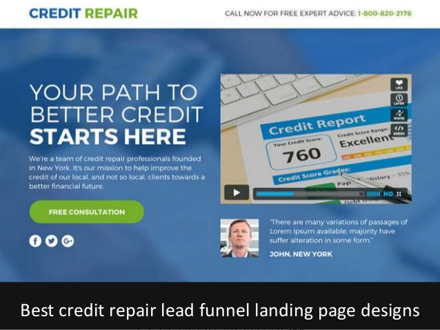 build credit repair sales funnel for your business, FiverrBox