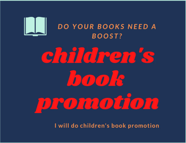 I will do amazing children kindle book and amazon book promotion, FiverrBox