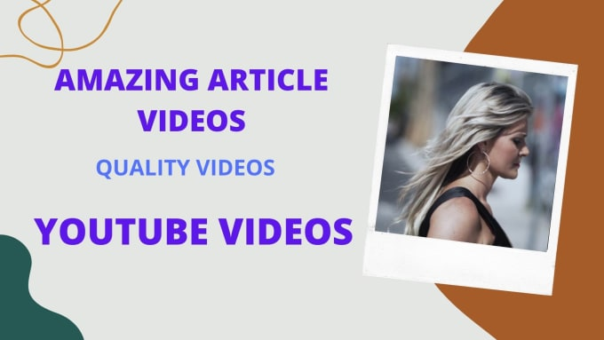 I will turn text, blogs, and articles into video with voiceover, FiverrBox