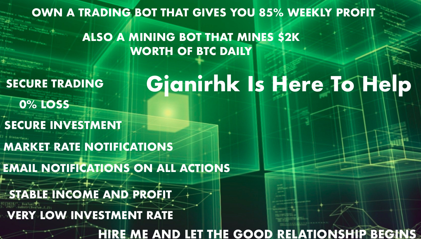 I will develop secure profit crypto trading bot,mining bot, FiverrBox
