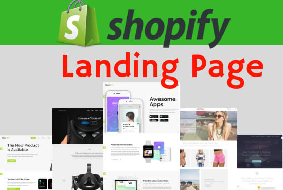 I will create a high converting shopify landing page to boost shopify conversion, FiverrBox