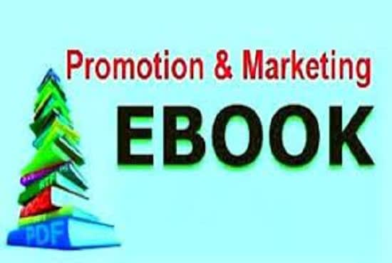 I will do kindle book, ebook promotion by social media marketing, FiverrBox