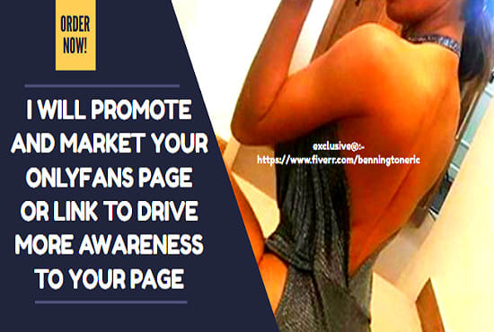 I will do onlyfans promotion and traffic junky campaign setup, FiverrBox