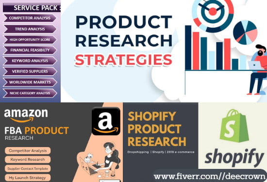 I will do shopify 6 figure winning dropshipping store product researc, FiverrBox
