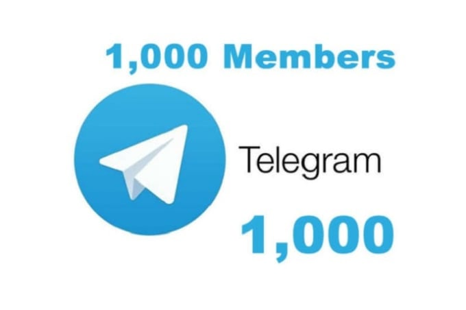 I will grow your telegram to get real and active member and, FiverrBox