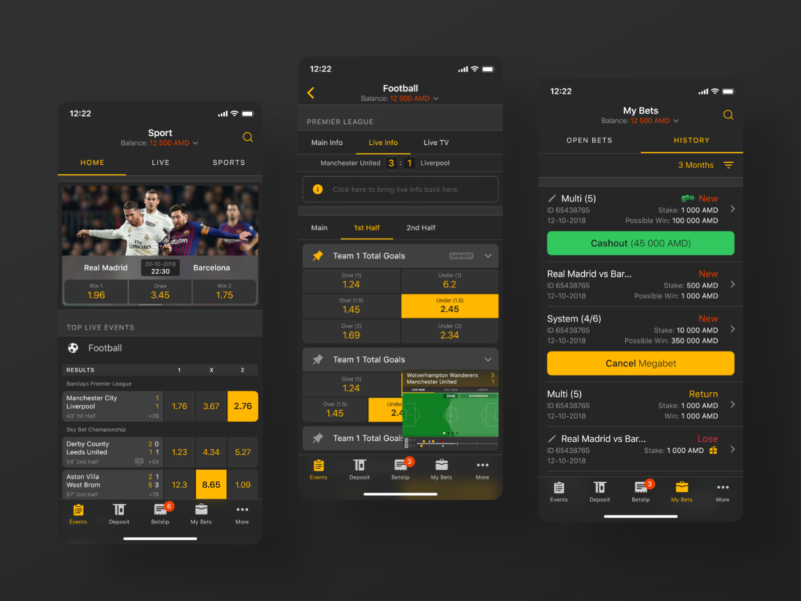 I will develop a quality sport betting app, website, and admin pannel, FiverrBox