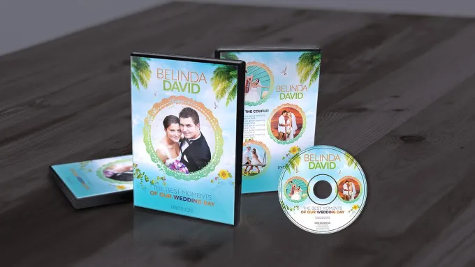 I will design professional cd dvd cover and label, FiverrBox