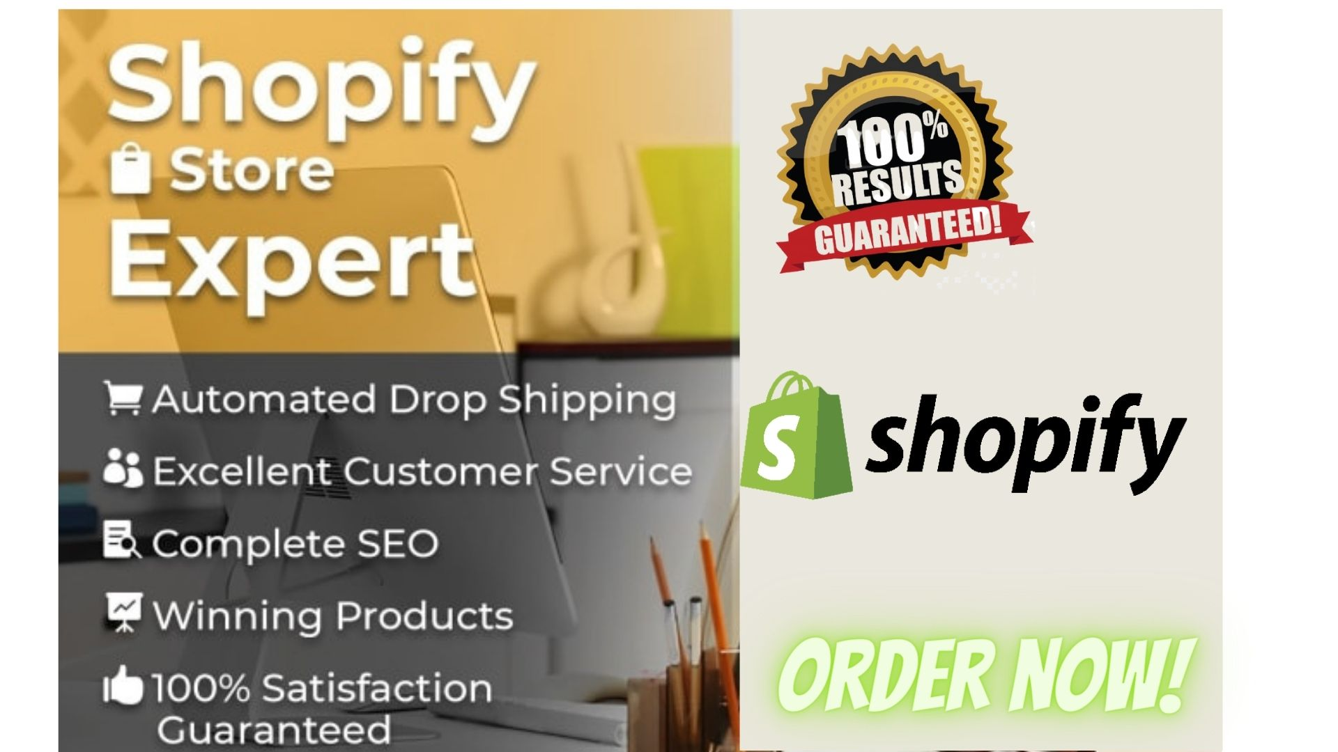 I will create high converting shopify dropshipping, shopify store, shopify website, FiverrBox