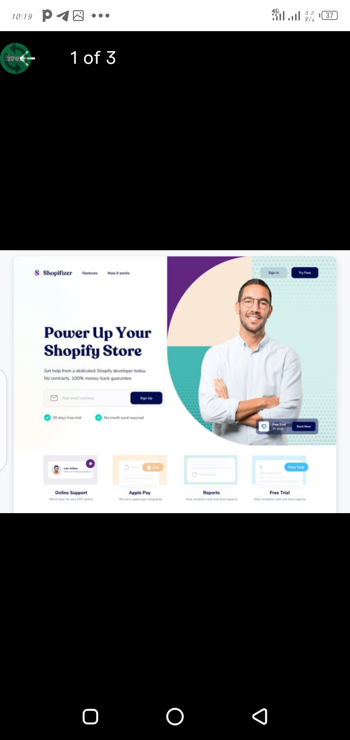 I will build shopify dropshipping store, design shopify website or store, FiverrBox
