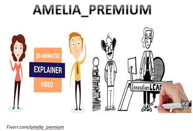 I will create 2d animation or whiteboard explainer video professionally, FiverrBox