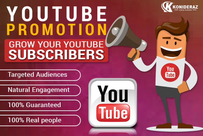 I will do organic youtube promotion, super fast monetization for super growth, FiverrBox
