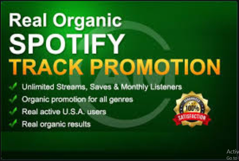 I will embed spotify music promotion on 450m playlist placement spotify, FiverrBox