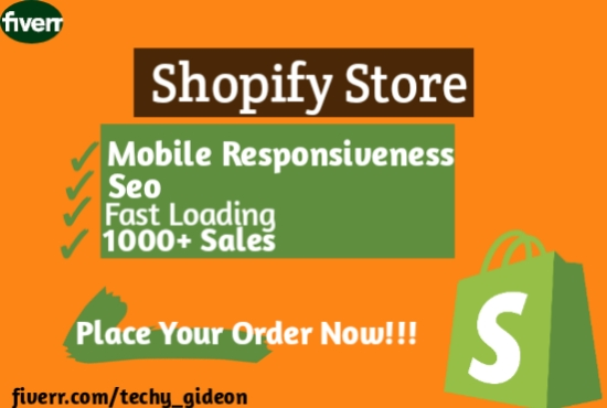 I will setup Shopify dropshipping and online store, FiverrBox