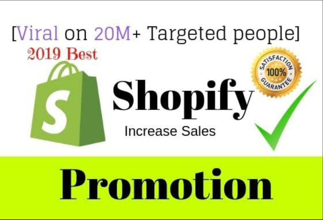 I will do shopify marketing shopify traffic with klaviyo email to boost, FiverrBox
