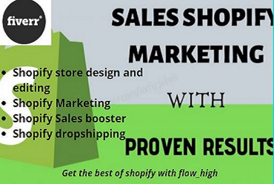I will create and design 8 figures shopify dropshipping store, FiverrBox