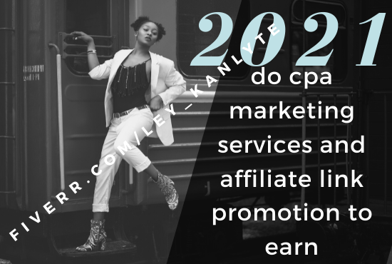 I will do CPA marketing affiliate marketing link promotion with email lists, FiverrBox