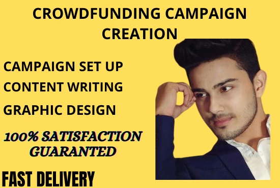 I will create and manage your crowdfunding campaign fundraising promotion, FiverrBox