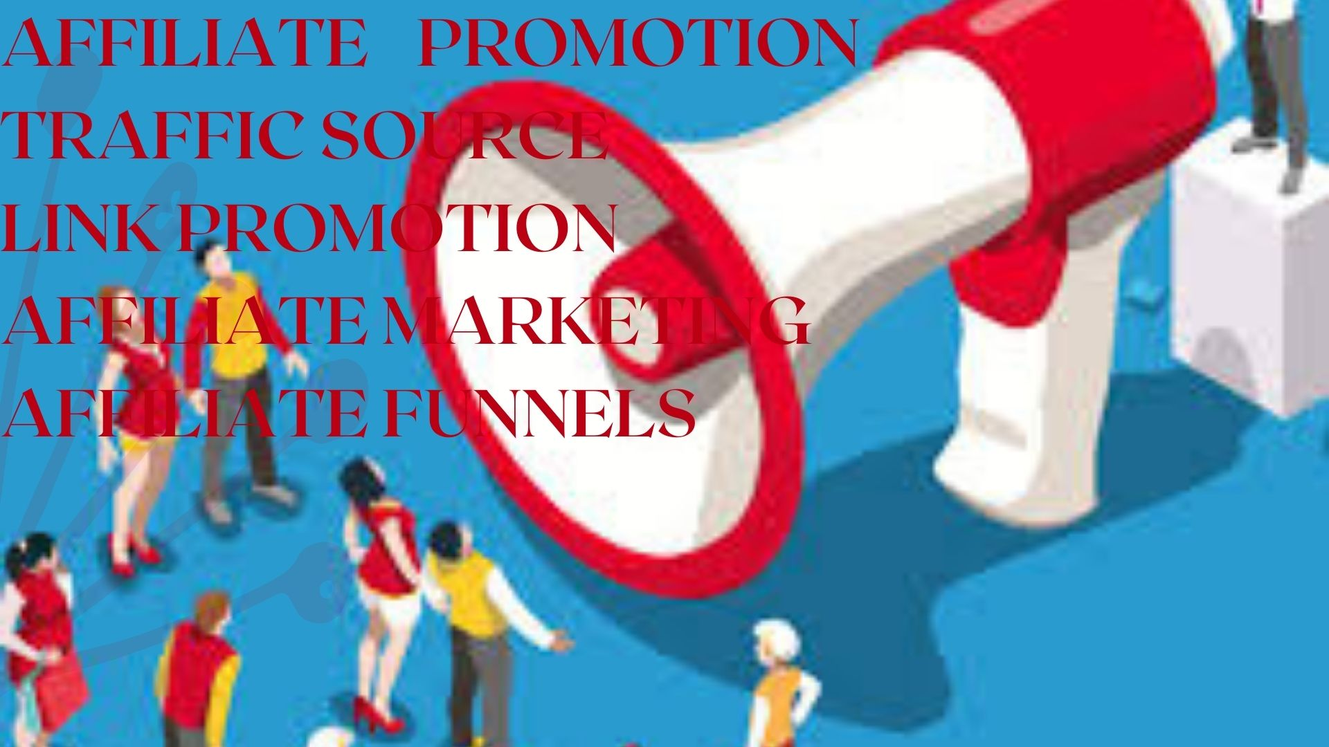 I will promote your affiliate link to get real and active, FiverrBox