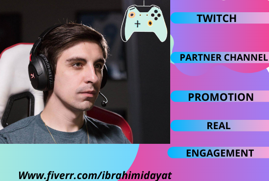 promote and bring active followers and live viewers to your channel, FiverrBox