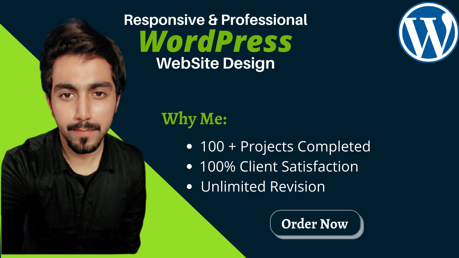 I will build a professional and responsive wordpress website, FiverrBox