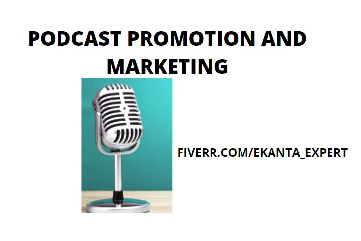I will do organic podcast promotion to grow audience listening, FiverrBox